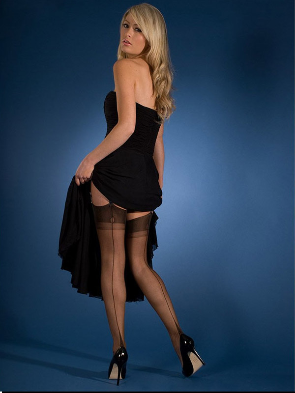 seamed stockings